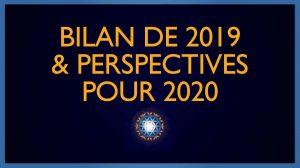 Bilan 2019 & Perspectives 2020