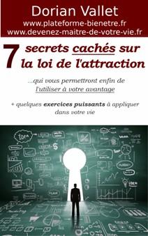 7 secrets cachés sur la loi de l'attraction : Sortie du livre !