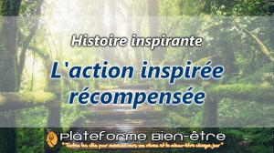 [Histoire] L'action inspirée récompensée