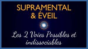Supramental et Eveil : Les 2 voies possibles
