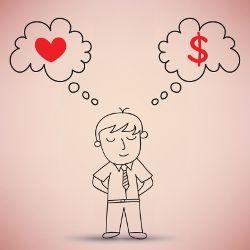 Aimer l'argent pour gagner plus