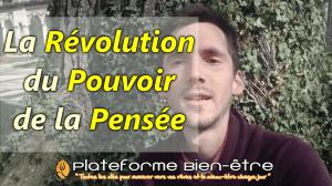 La Révolution du POUVOIR de la PENSÉE