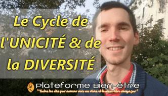 Le cycle de l'unicité et de la diversité