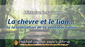 [Histoire] La chèvre et le lion