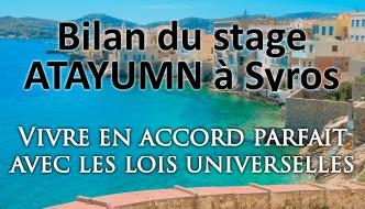 Impressionnant Bilan du Stage à Syros